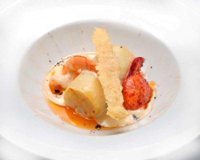 Carta Restaurante Canelon de bogavante. Restaurante Castillo Bonavía