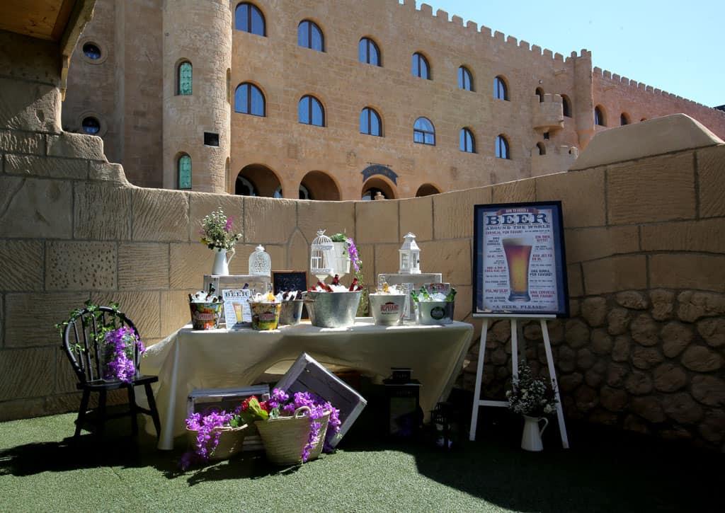 Decoracion bodas. Hotel Castillo Bonavia_Zaragoza