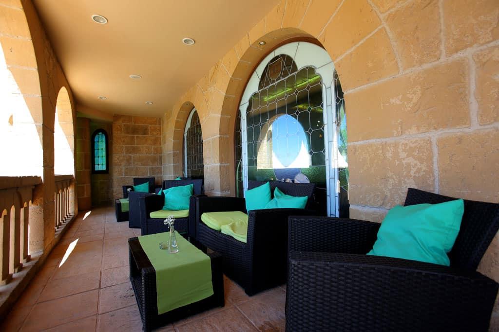 Salón de bodas Arcos. Hotel Castillo Bonavia_Zaragoza