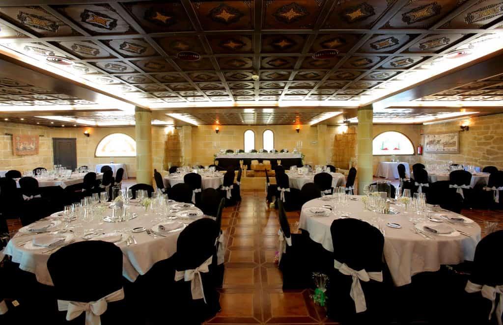 Salon de bodas Arcos. Hotel Castillo Bonavia_Zaragoza