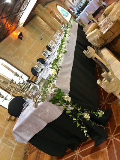 Salón de bodas los Arcos-Castillo Bonavia