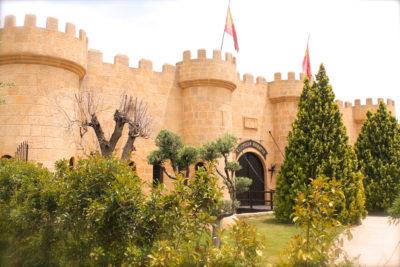 Entrada salón Finca Reina. Hotel Castillo Bonavía