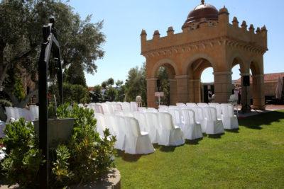 Bodas civiles jardines Finca de la Reina. Hotel Castillo Bonavia