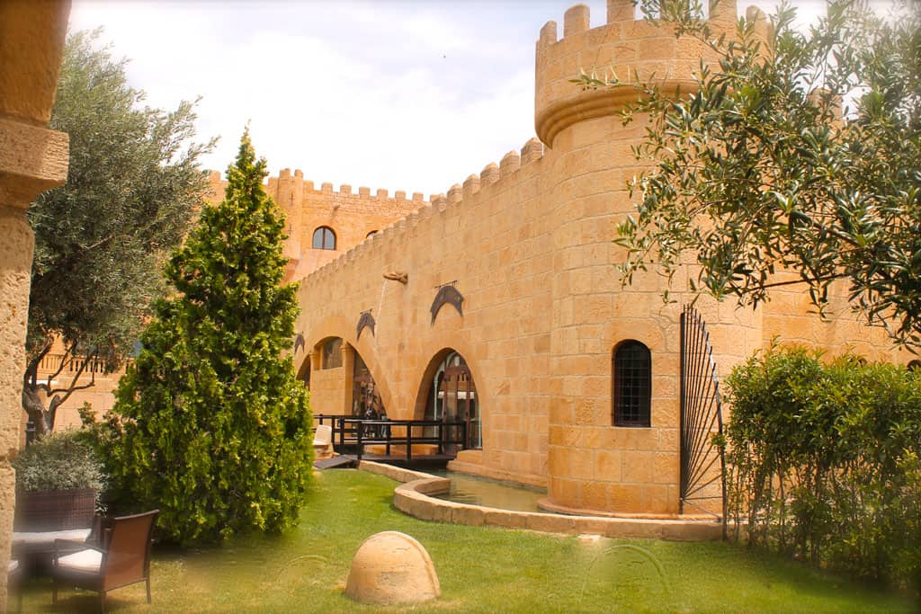 Exterior del salón finca de la Reina. Hotel Castillo Bonavia