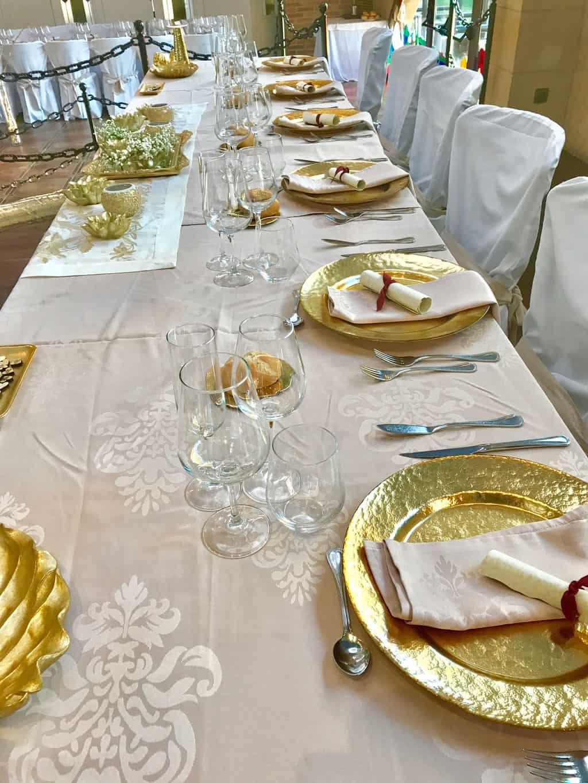 Salón banquetes Reina. Hotel Castillo Bonavia