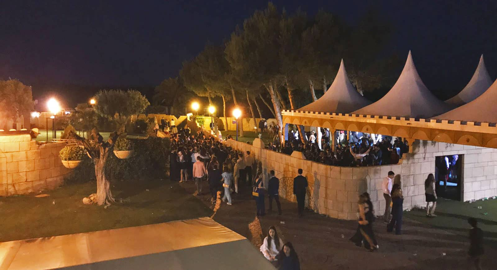Fiesta de Graduaciones en Zaragoza. Hotel Castillo Bonavía