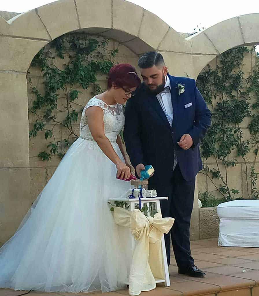 Daniel Sanz Muñoz y Cristina Marín Caballo. 14 de octubre del 2017