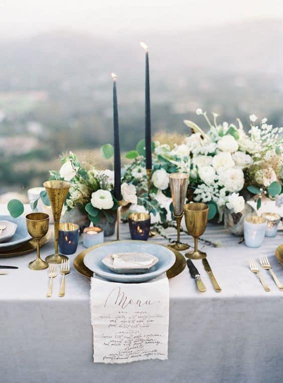 decorar bodas con velas altas-4