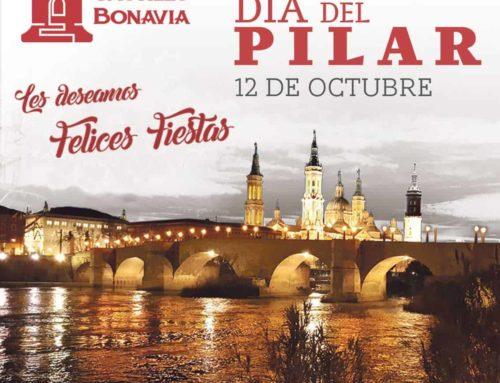 El Día del Pilar en Castillo Bonavía ¡con un Menú muy especial!