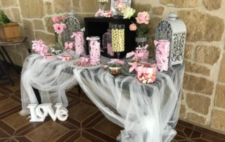 candy bar estilo shabby chic-vintage-decoracion bodas 2019 (