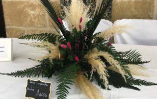 centros de mesa y jarrones-decoración de boda