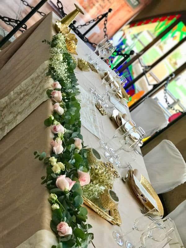 decoración mesa presidencial-salon-reina-hotel-castillo-bonavia-2