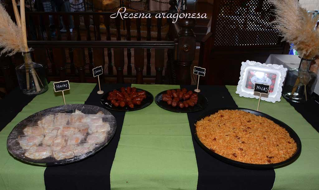 Rincón gourmet. Recena tradicional aragonesa
