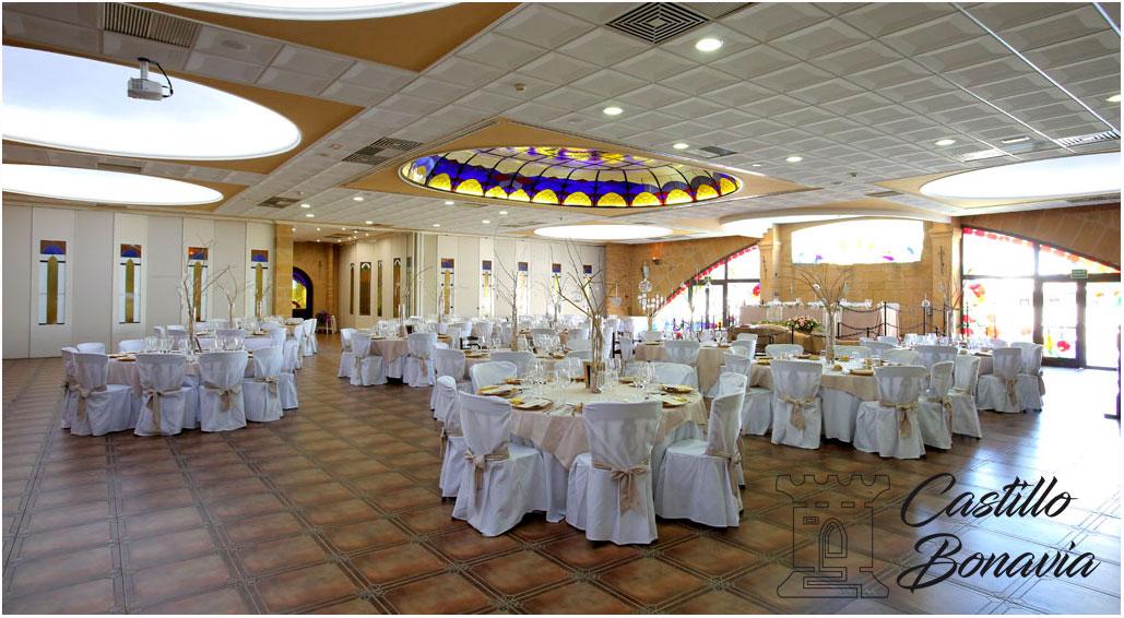 Menús de boda y Salones de boda en Castillo Bonavía-Salón de la Reina