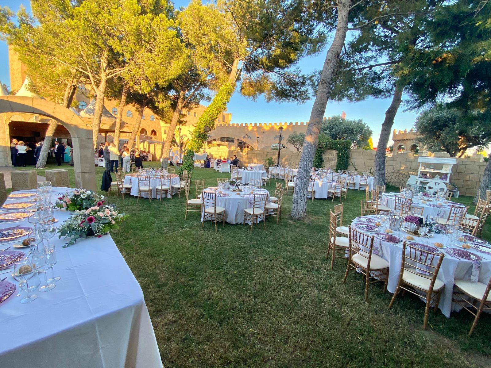 Banquete al aire libre-Finca los Arcos (4)
