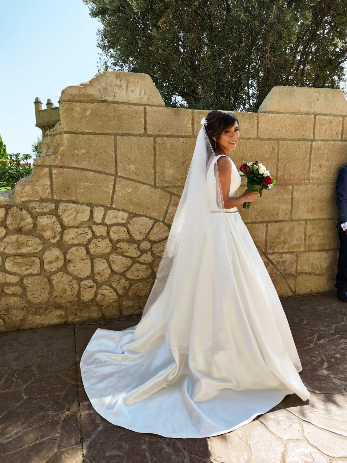 bodas en el castillo-parejas de novios -Boda Eda y Santiago