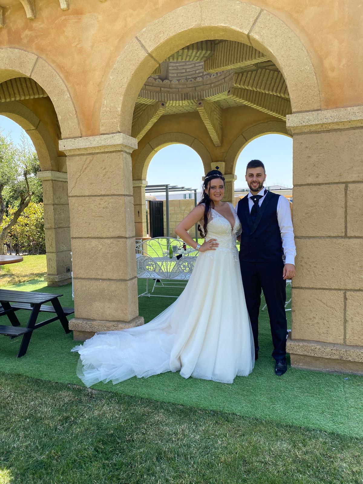 bodas en el castillo-Rocío y Mariano