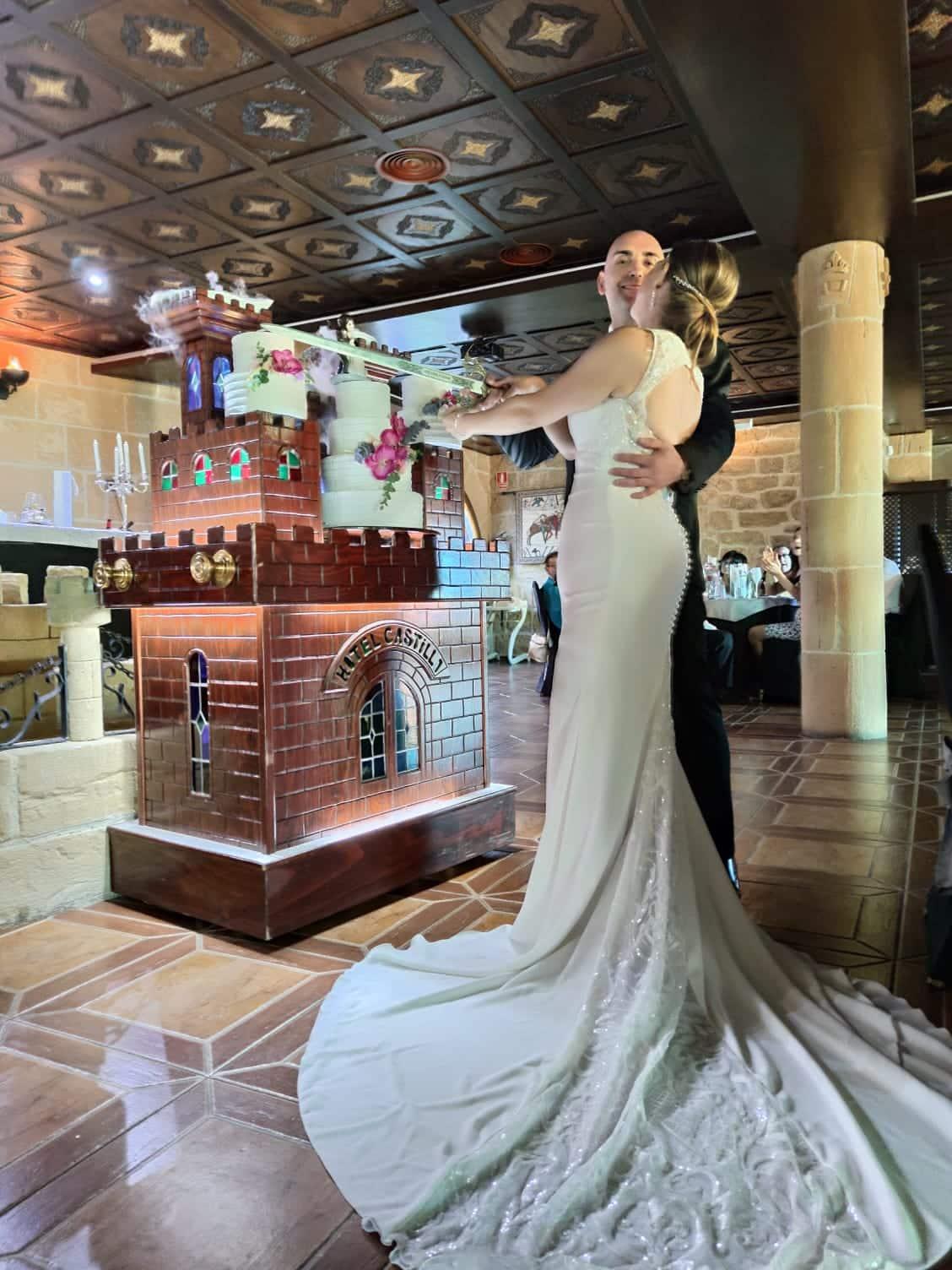 bodas en el castillo-parejas de novios -Boda Esmeralda y Sergio