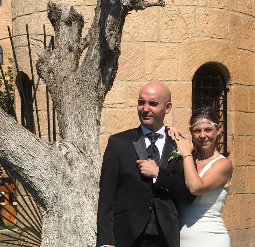 bodas en el castillo-parejas de novios -Boda Esmeralda y Sergio-2