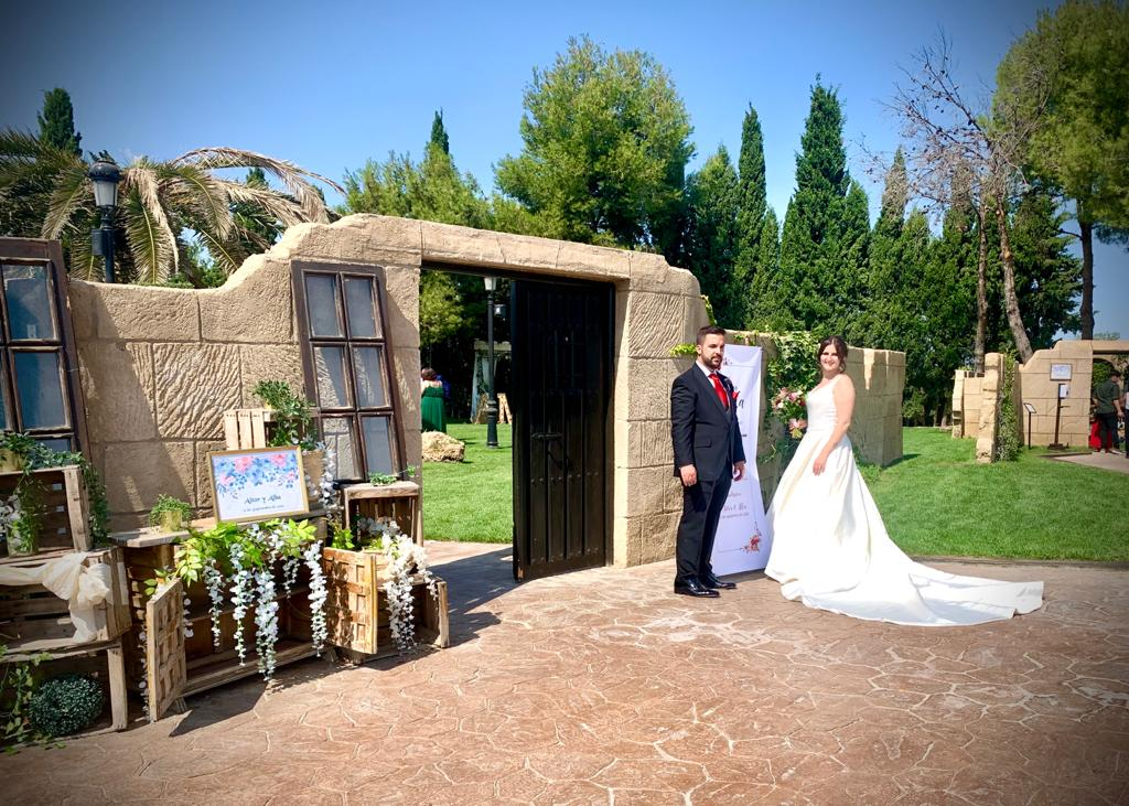 bodas en el castillo-parejas de novios-boda aitor y alba