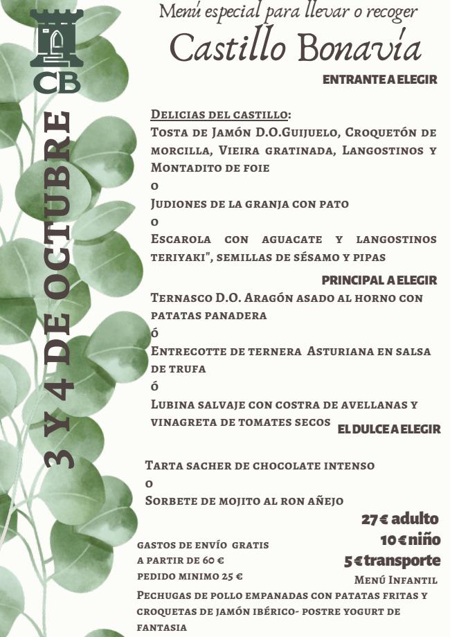 menus 3-4-octubre