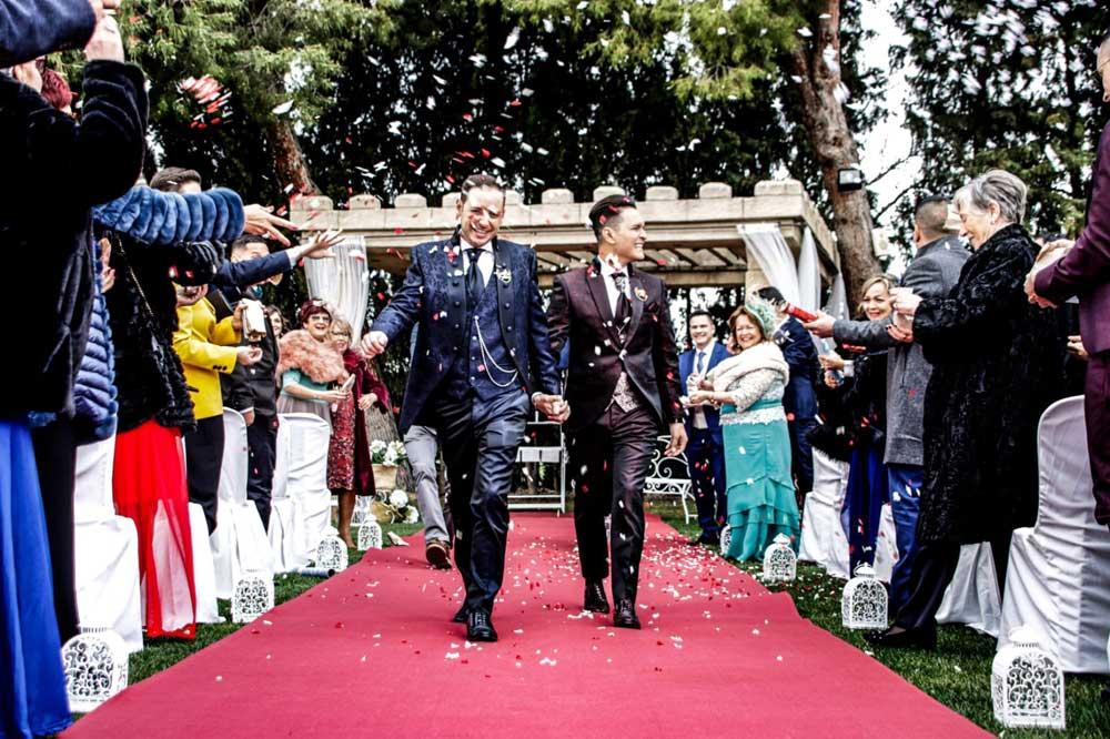 Ceremonia civil-Boda David y Juan_Bodas gays-Castillo Bonavía