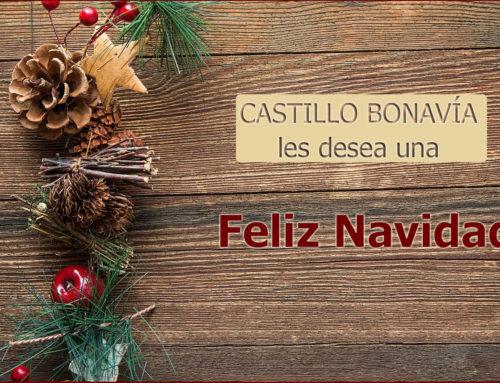 Castillo Bonavía les desea una Feliz Navidad y Próspero Año Nuevo