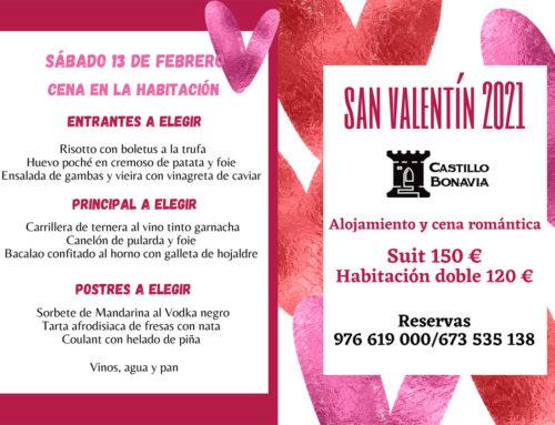 Un San Valentín muy romántico y diferente